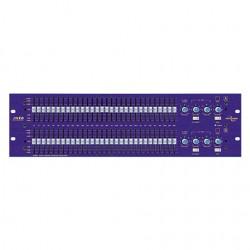 location GQ600 - Égalisateur 2 cts graphique 2X30 bands