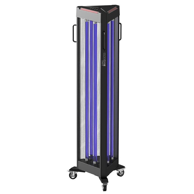 Projecteur de désinfection à UV-C à roulettes en location -  UVM216 - GOLDENSEA UV