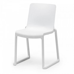 Chaise blanche en location - Kasar Chair - FLEXFURN