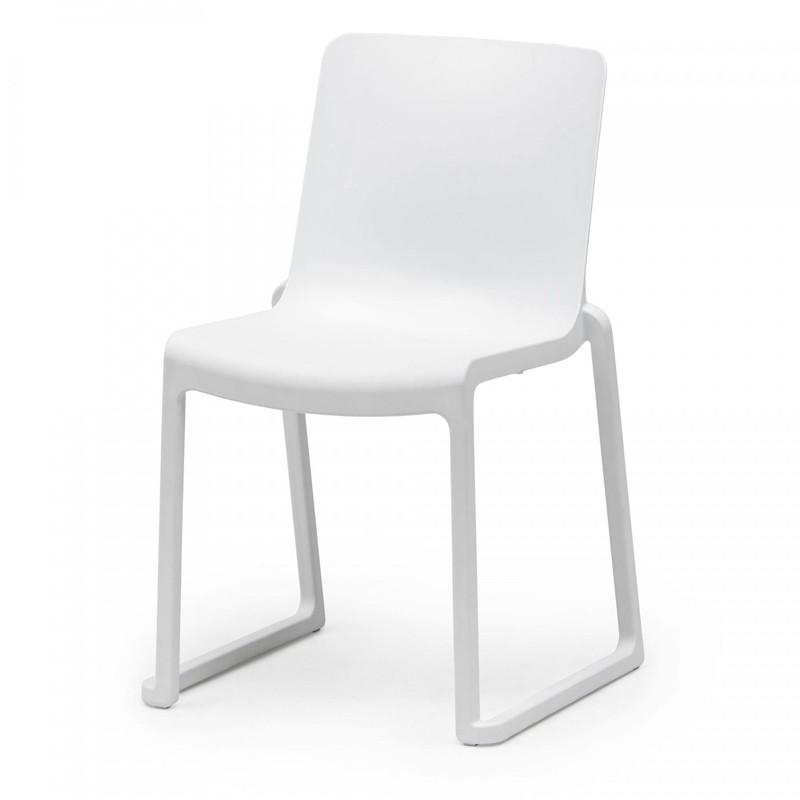 Chaise blanche en location - Kasar Chair - FLEXFURN