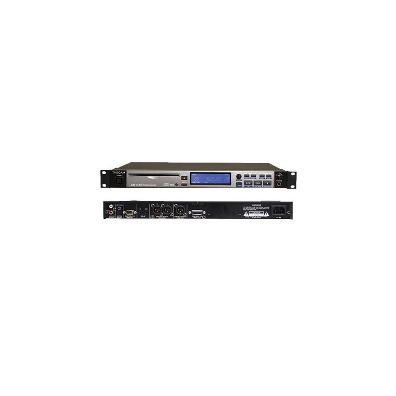 location CD01 UPRO - Lecteur de CD aPa/Acue 1U sortie sur XLR
