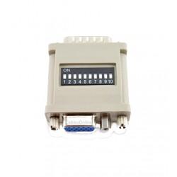 location AVGAFF - Adaptateur VGA DB15 F/F