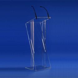 Location pupitre de conférence plexiglas transparent
